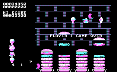 Burger Time PC MS-DOS 18