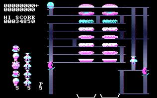 Burger Time PC MS-DOS 19