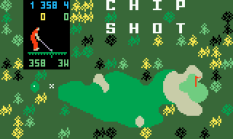 Chip Shot Super Pro Golf Intellivision 01
