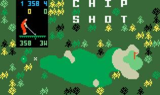 Chip Shot Super Pro Golf Intellivision 01