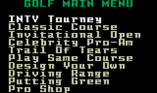 Chip Shot Super Pro Golf Intellivision 02