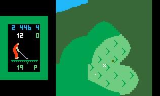 Chip Shot Super Pro Golf Intellivision 11