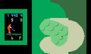 Chip Shot Super Pro Golf Intellivision 18