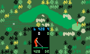 Chip Shot Super Pro Golf Intellivision 30