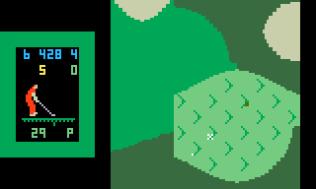 Chip Shot Super Pro Golf Intellivision 32