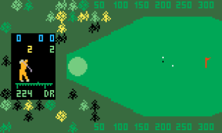 Chip Shot Super Pro Golf Intellivision 35