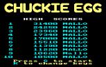 Chuckie Egg Amstrad CPC 02