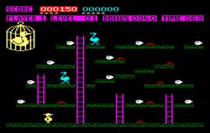 Chuckie Egg Amstrad CPC 10