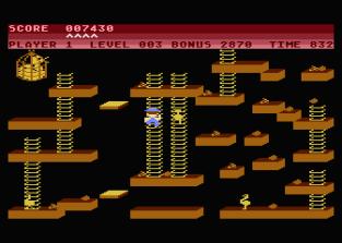 Chuckie Egg Atari 800 09