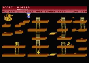 Chuckie Egg Atari 800 12
