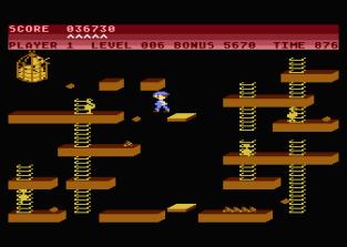 Chuckie Egg Atari 800 20