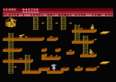 Chuckie Egg Atari 800 22