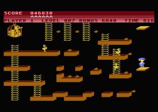 Chuckie Egg Atari 800 23
