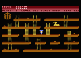 Chuckie Egg Atari 800 31