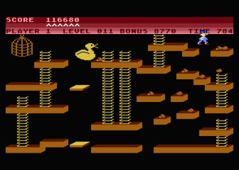 Chuckie Egg Atari 800 34