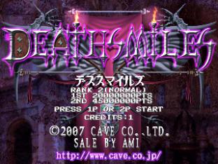 Deathsmiles Arcade 001