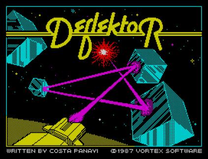 Deflektor ZX Spectrum 01