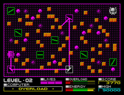 Deflektor ZX Spectrum 09