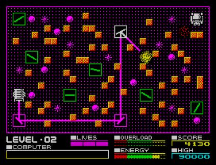 Deflektor ZX Spectrum 12