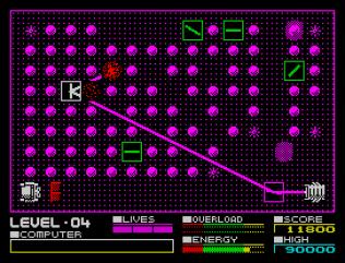 Deflektor ZX Spectrum 21