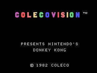 Donkey Kong Colecovision 01