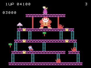 Donkey Kong Colecovision 09