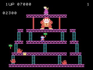 Donkey Kong Colecovision 12