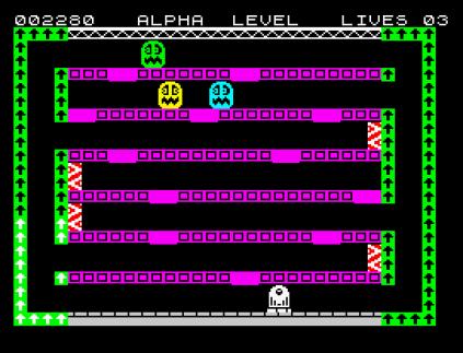 Factory Breakout ZX Spectrum 09