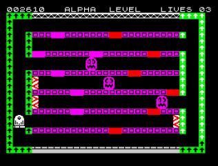 Factory Breakout ZX Spectrum 10
