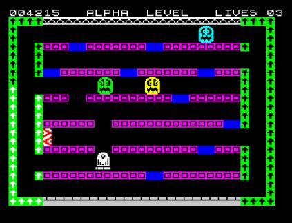 Factory Breakout ZX Spectrum 12