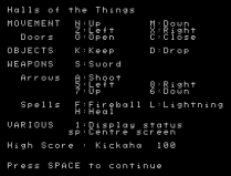 Halls of the Things ZX Spectrum 02