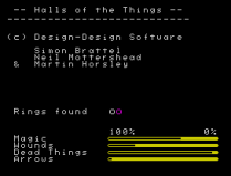 Halls of the Things ZX Spectrum 13