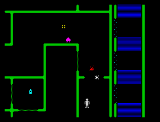 Halls of the Things ZX Spectrum 21