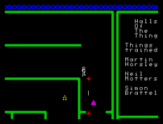 Halls of the Things ZX Spectrum 32