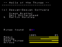 Halls of the Things ZX Spectrum 40