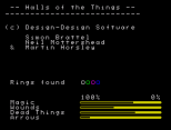 Halls of the Things ZX Spectrum 47