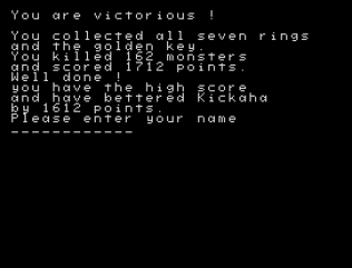 Halls of the Things ZX Spectrum 71