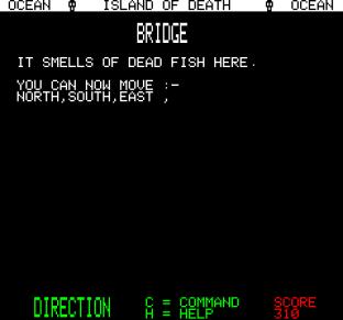Island of Death Oric 23