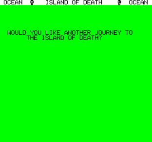Island of Death Oric 45