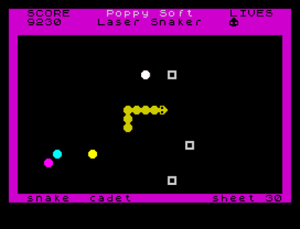 Laser Snaker ZX Spectrum 09