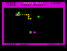Laser Snaker ZX Spectrum 10