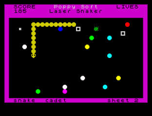 Laser Snaker ZX Spectrum 12
