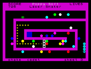 Laser Snaker ZX Spectrum 20