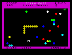 Laser Snaker ZX Spectrum 21