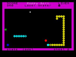 Laser Snaker ZX Spectrum 22