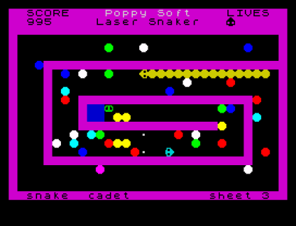 Laser Snaker ZX Spectrum 23