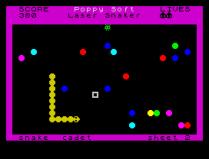 Laser Snaker ZX Spectrum 24