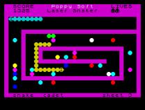 Laser Snaker ZX Spectrum 25