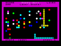 Laser Snaker ZX Spectrum 28