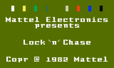 Lock N Chase Intellivision 01